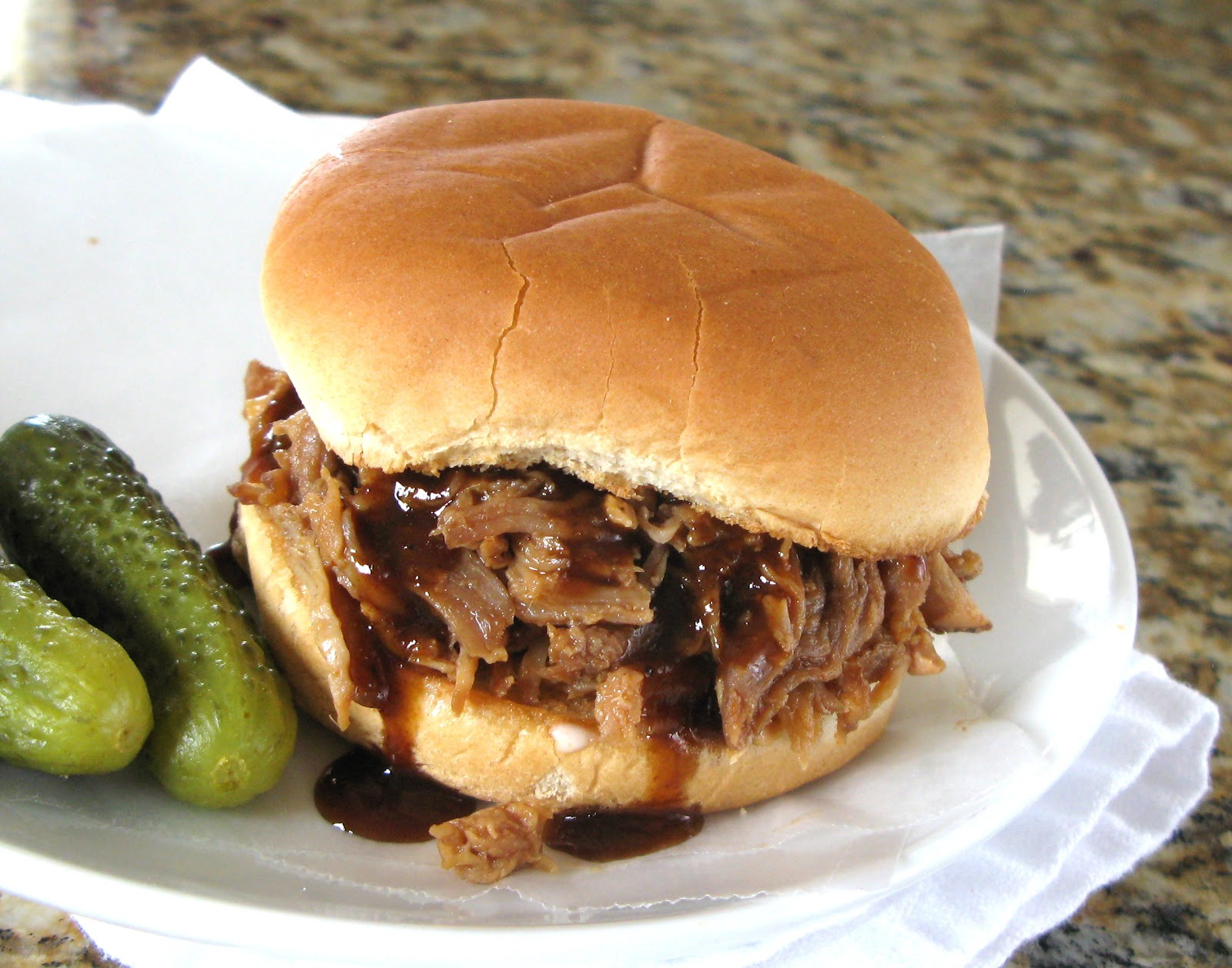 love pulled pork because it is super easy (I cook the meat in my ...