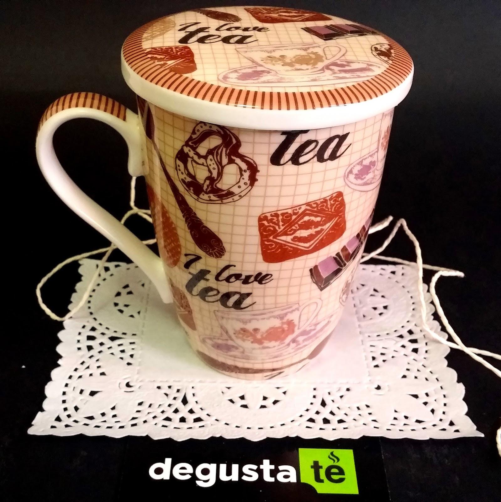 Club degustat tazas para t con filtro for Tazas para te