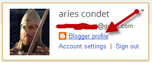 Gambar Profil Blogger
