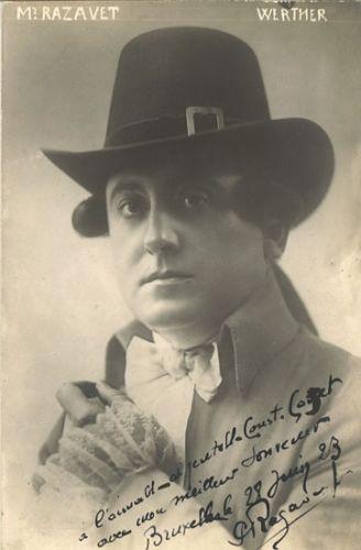 FRENCH TENOR PAUL RAZAVET (1882-1957) CD