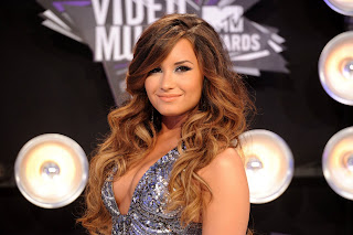 Demi Lovato Hairstyle Colort