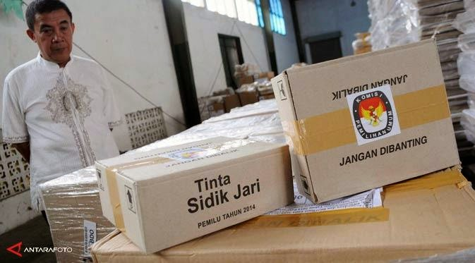 Noda Hitam Pemilu Legislatif 2014