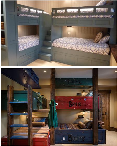 Corner Bunk Bed Ideas 452 x 564