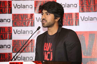 Ram Charan Tej New Stills as Volano Brand Ambassador