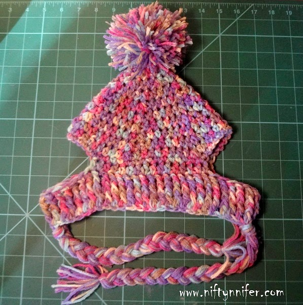Knitting Pattern Hat Dog : Niftynnifers Crochet & Crafts: Free Crochet Pattern ~A Silly Hat For...