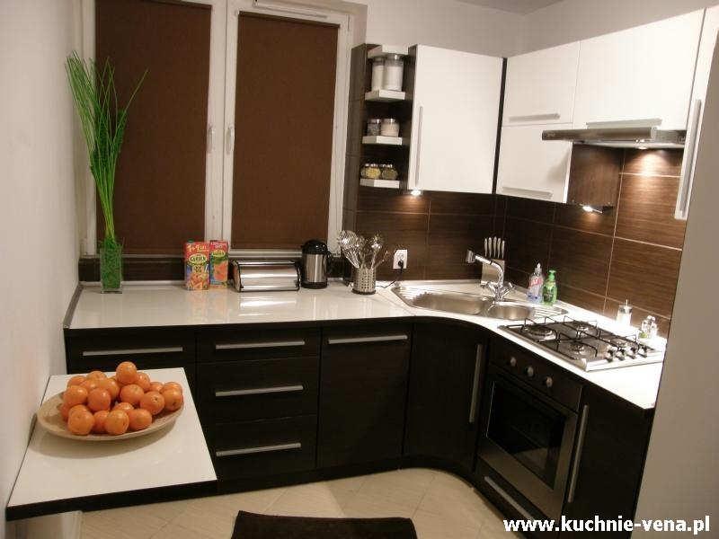 Meble kuchenne Lublin Vena w Domixie  opinie, porady, inspiracje Mała kuchnia