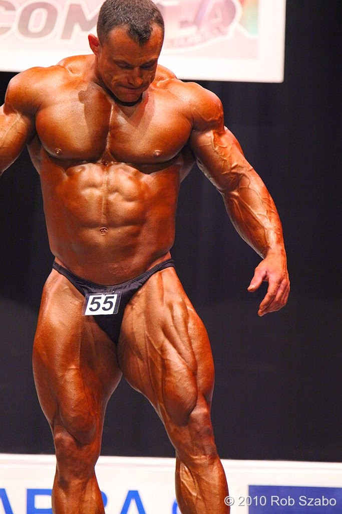 world wide body builders: British muscle star Dave Guest