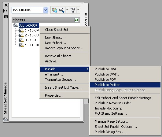 From the Trenches with Autodesk Inventor: Using AutoCAD Sheet Set