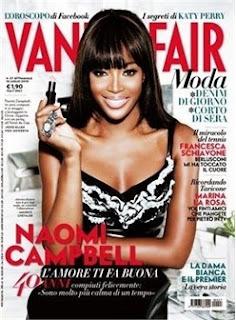 Naomi Campbell, Vanity Fair magazine