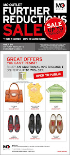 MO OUTLET Further Reductions Sale 2013