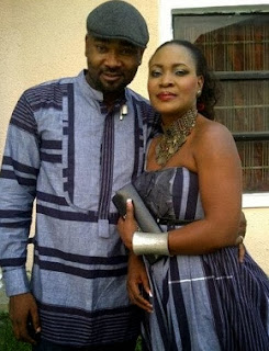 Prince Eke is so in love  with  Muma Gee , wishes her Happy Birthday.