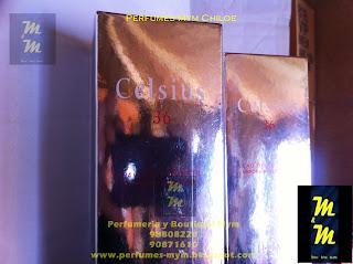perfume celsius 36 pour femme