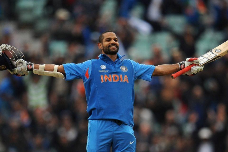 Shikhar-Dhawan-2nd-ODI-Hundred-vs-West-Indies-ICC-Champions-Trophy-2013
