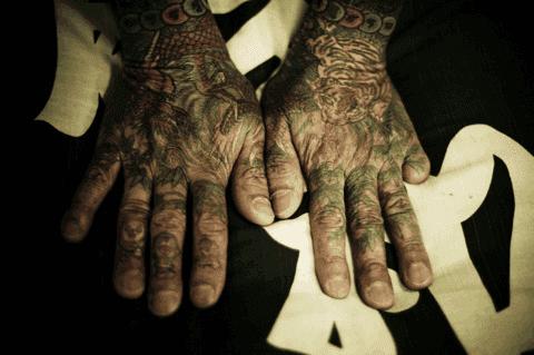 Anggota Yakuza dengan 1 jari kelingking