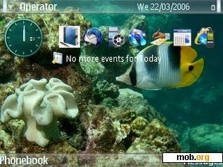 Tema Nokia E63 underwater