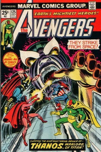 Avengers #125, Thanos
