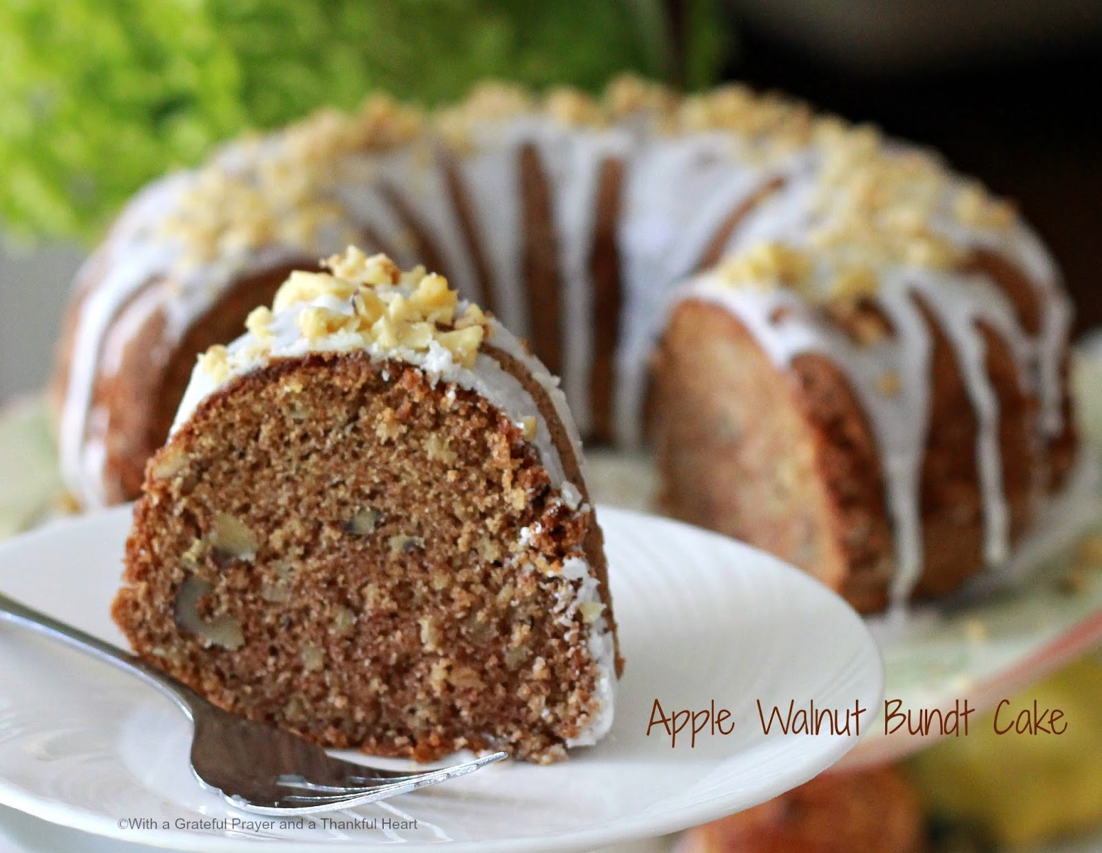 cake filled with sliced apples, you might want to try Jewish Apple ...