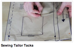 Video: Sewing Tailor Tacks