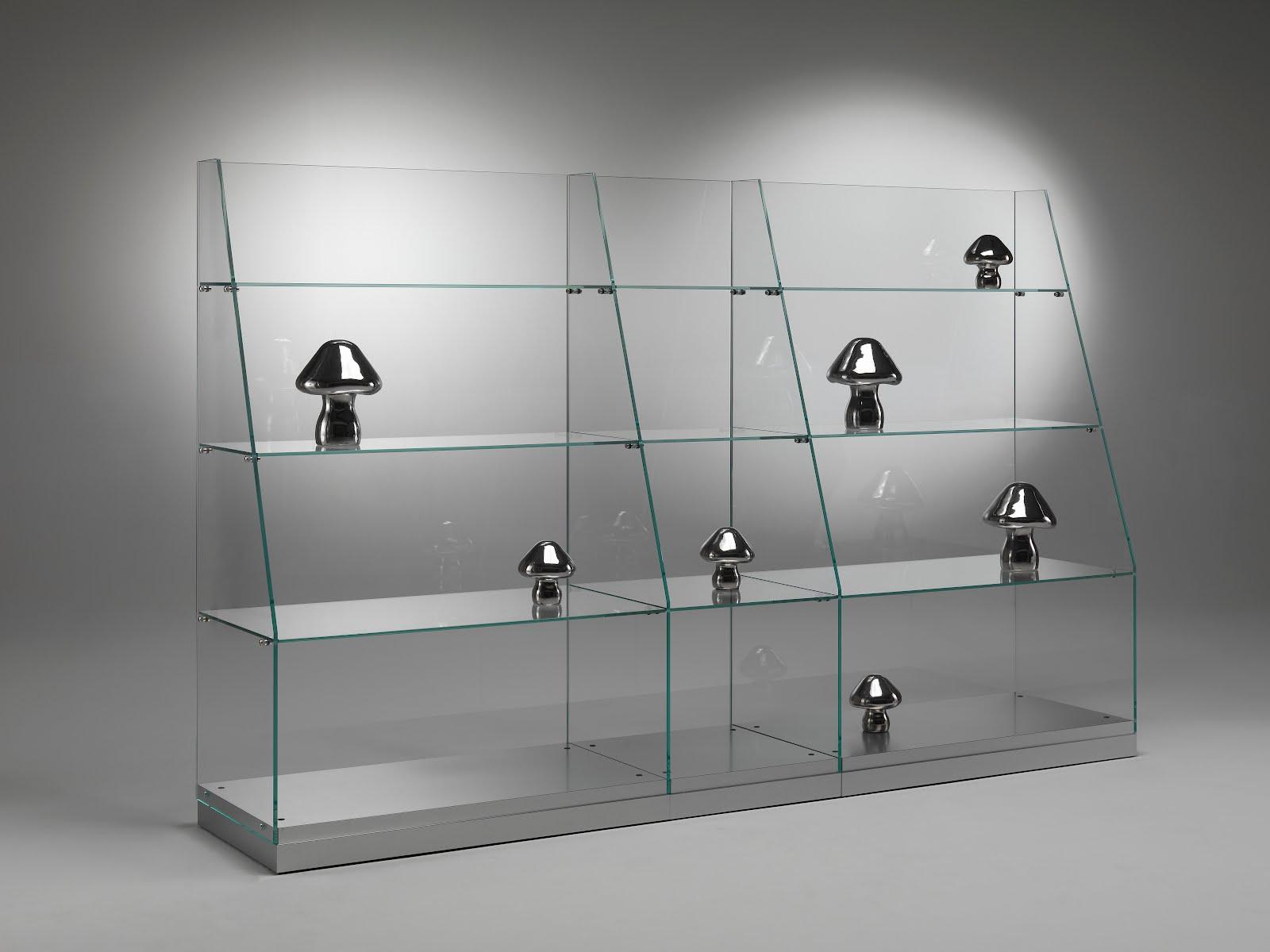 V i t r i n a s vitrinas g ndola para comercios novedad - Vitrinas de cristal para colecciones ...