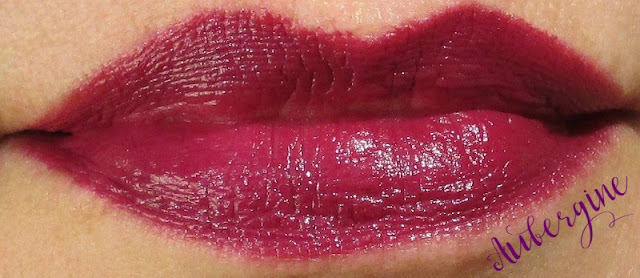 BITE Beauty Matte Creme Lip Crayon-Aubergine Lip Swatch notesfrommydressingtable.com