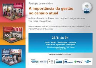 Sebrae - A importância da gestão no cenário atual - Prêmio MPE Brasil