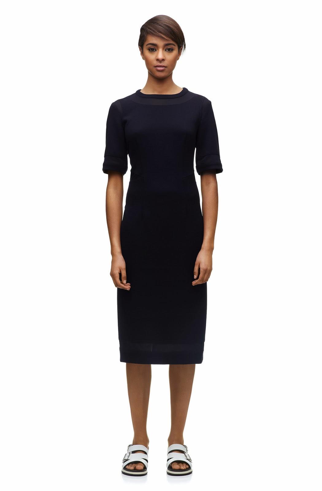whistles panel dress