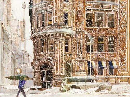 00-Maja-Wronska-Travels-Architecture-Paintings-www-designstack-co
