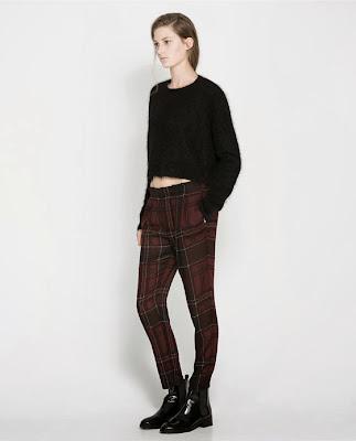 Zara παντελόνι