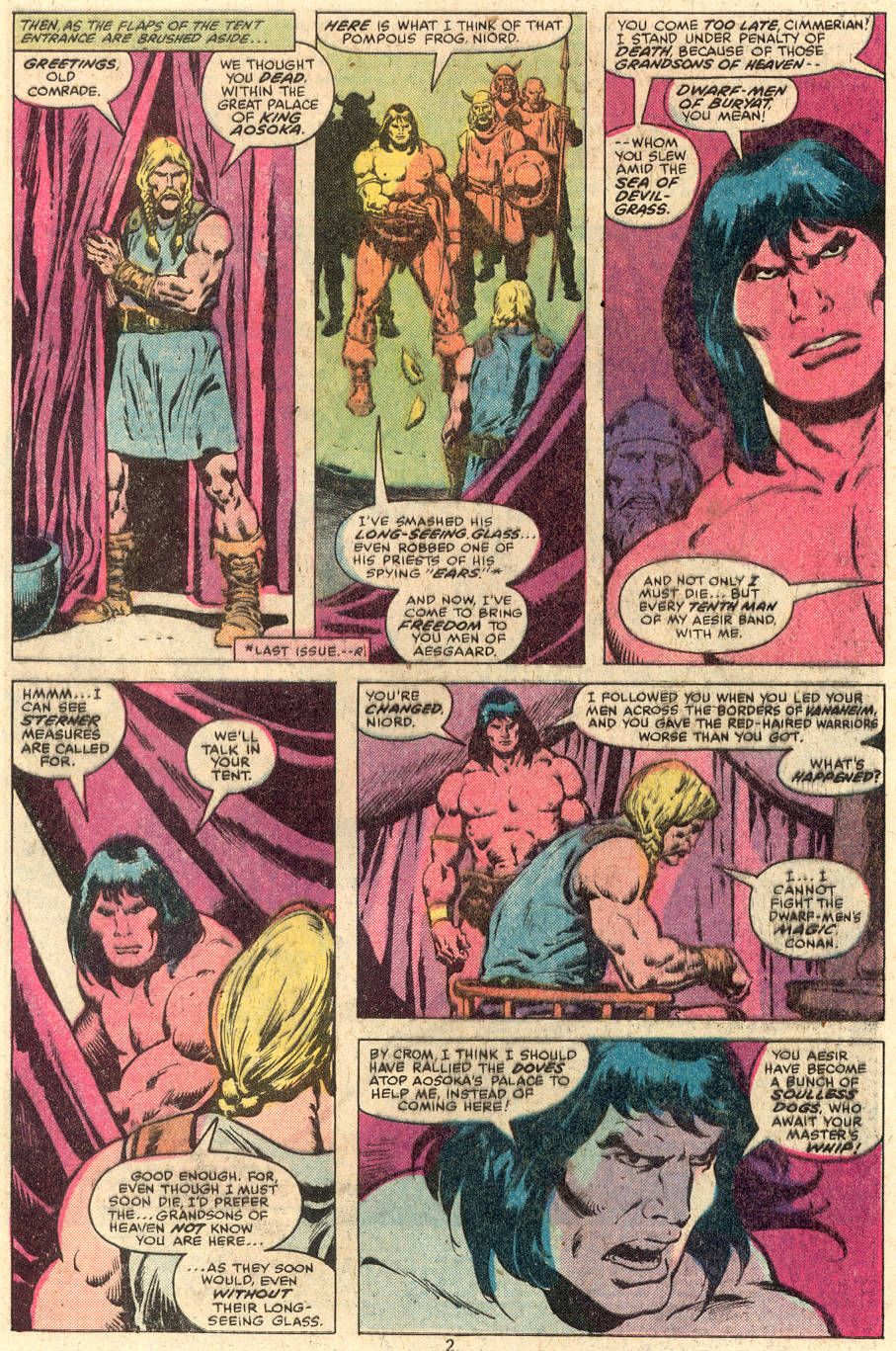 Conan the Barbarian (1970) Issue #112 #124 - English 3