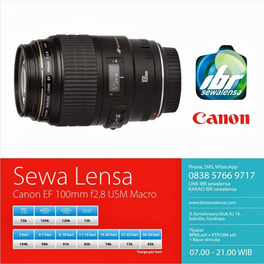 Canon 100 mm F2.8 USM Macro