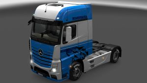 Scandinavian Wolf skin for Mercedes MP4