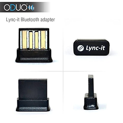 Oduo Lync-it 4.0 USB Bluetooth Adapter - Compatible with Windows 7, Windows 8, Windows Vista
