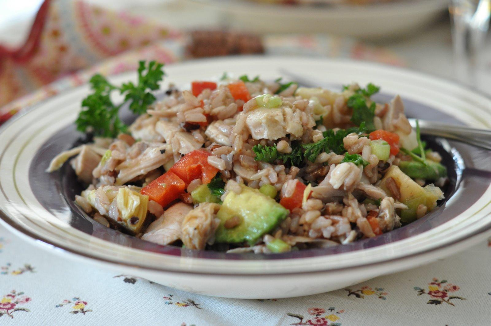 Dijon-Chicken Rice Salad Recipes — Dishmaps