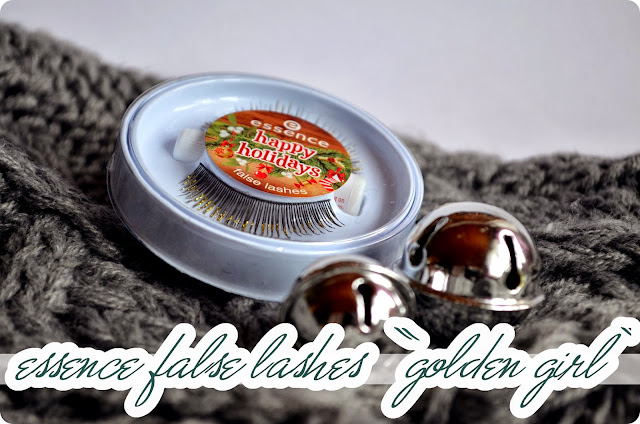 Review essence Happy Holidays LE - False Lashes GOLDEN GIRL