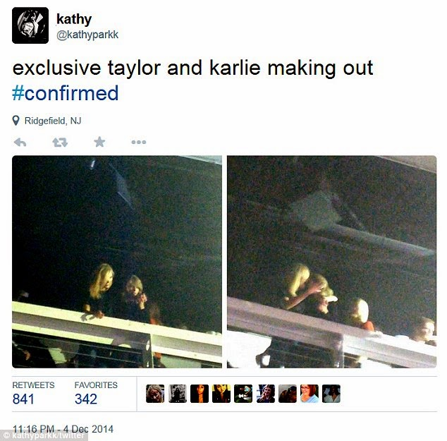 Karlie Kloss and Taylor Swift rumoured to be in a lesbian relationship
