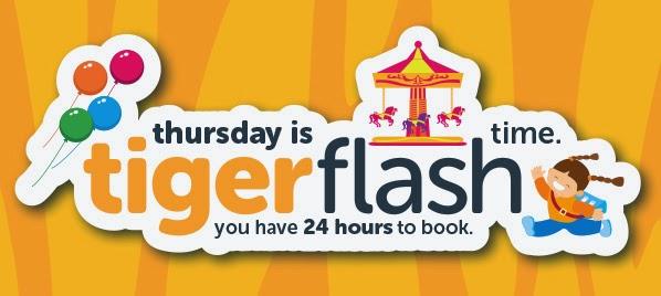 Tigerair 虎航【週快閃四】澳門飛新加坡,來回機位HK$839起(連稅HK$1,176),只限24小時。