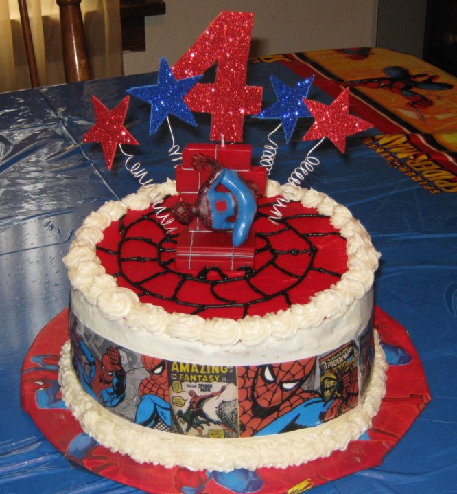 Spiderman Birthday Cake Walmart