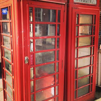 British Telephone Boxes, London, UK