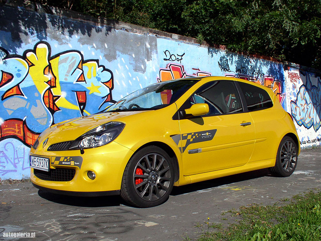 2006 renault clio iii renault sport related infomation specifications weili automotive network. Black Bedroom Furniture Sets. Home Design Ideas