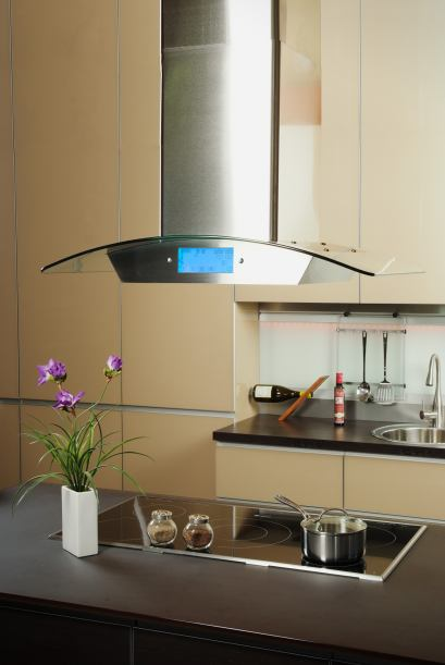 Decoraci n de interiores campanas extractoras para una for Extractor de humo para cocina