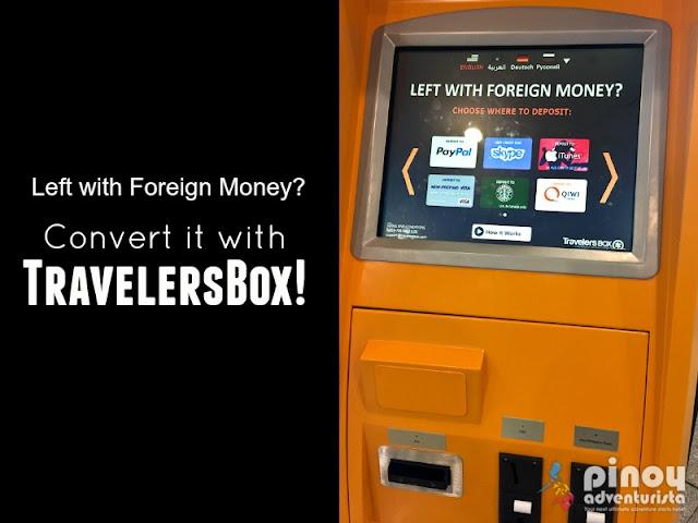 TravelersBox Kiosks in NAIA Manila Philippines