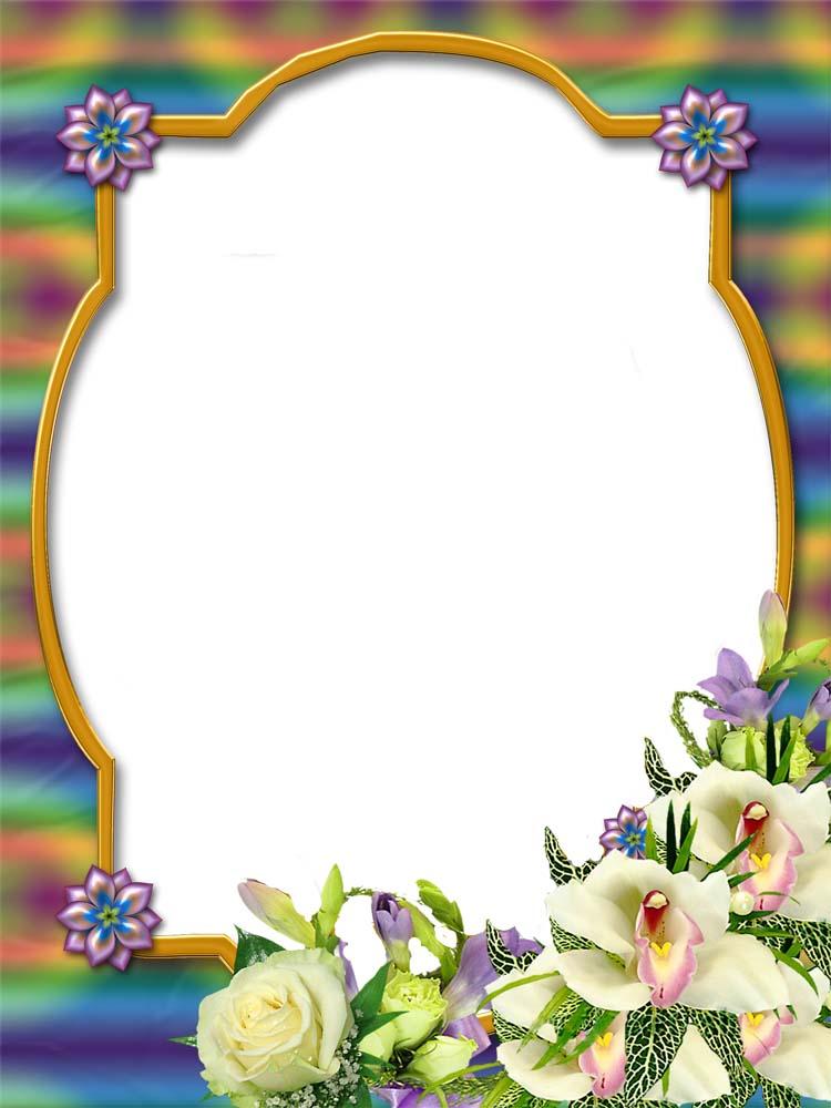 flower frame | psd frame
