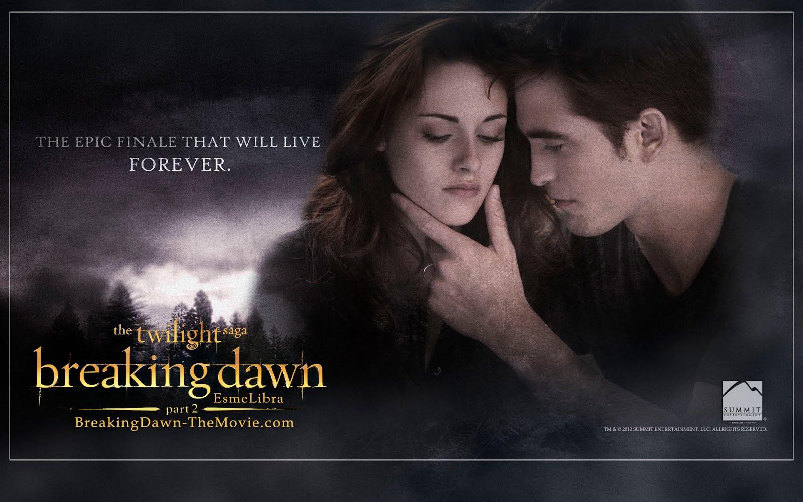 Fans twilight saga 4 new 39 breaking dawn part 2 39 desktop - Twilight breaking dawn wallpaper ...