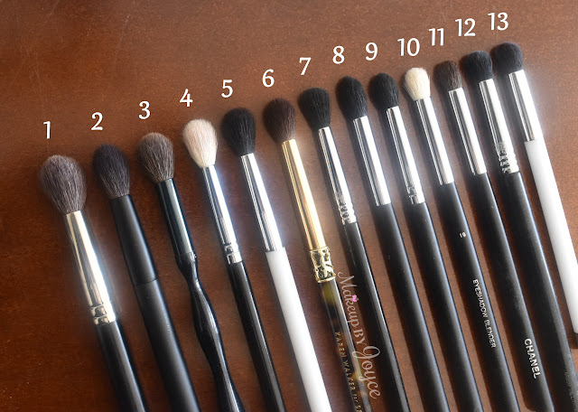 Tapered Crease Blending Eye Brushes Review