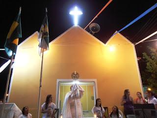 Última noite do novenário em honra a Nossa Senhora