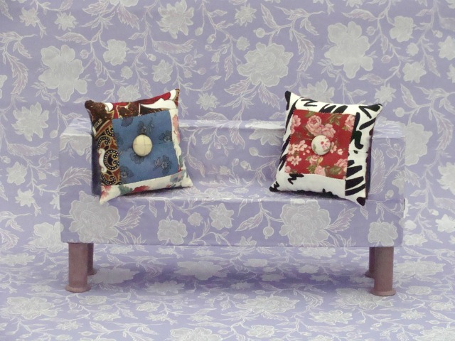 Ayalaythe - doll house home decor - cushion