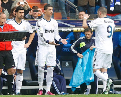 Cristiano Ronaldo replacing Benzema to play against Barcelona