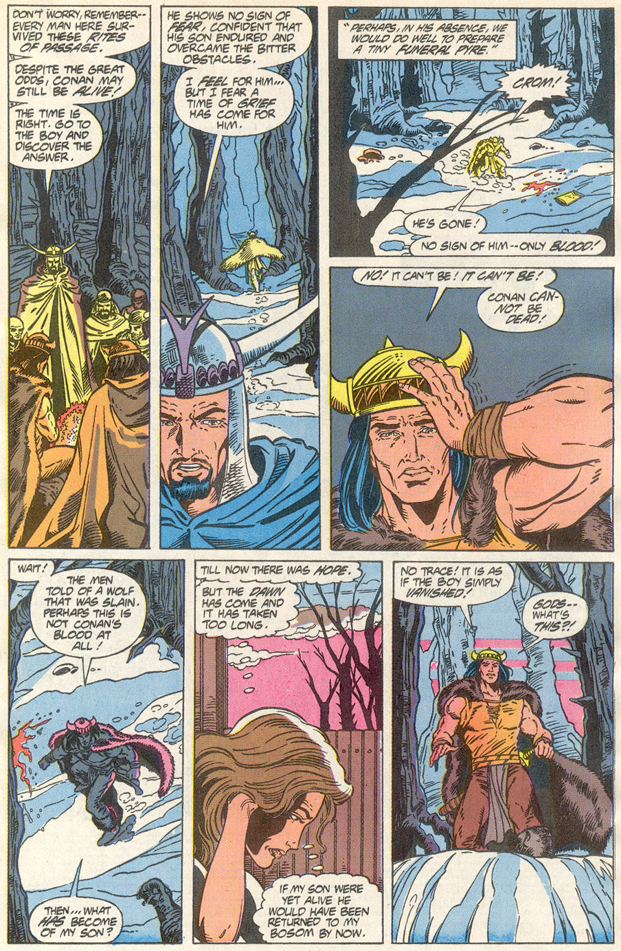 Conan the Barbarian (1970) Issue #233 #245 - English 8