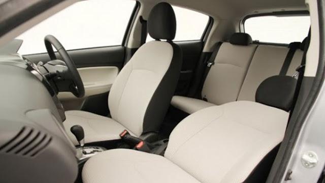 interior mobil mirage terbaru