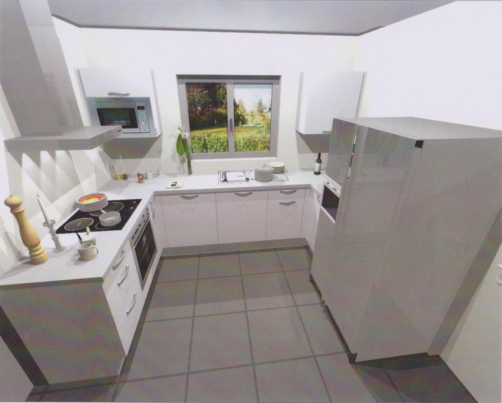 Notre projet de construction bbc avec villa et maison de for Cuisine equipee pose comprise